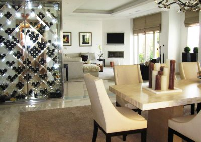 Peter-Wine-Chiller-and-dining-living